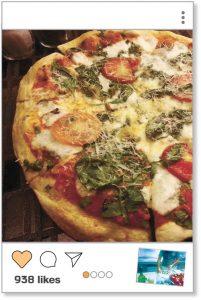 פי בריבוע, פיצה מרגריטה (צילום: עמרי נחמיאס)