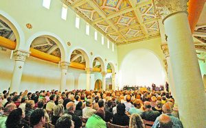 קונצרט בכנסיית אבו גוש (צילום: דני ארד)