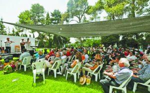 פסטיבל אבו גוש, אשתקד (צילום: דני ארד)
