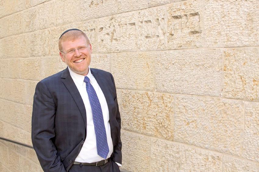 """ד""""ר דיוויד רוזנסון, מנהל בית אבי חי (צילום: Nicolai Busygin )"""