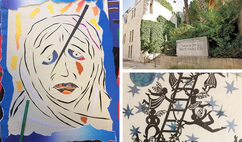 """""""בחלון"""" - תערוכה מגזרי נייר בבית שמואל (צילומים: מגד גוזני, דבורה גולדנברג)"""
