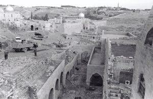 """ירושלים, 1967 (צילום: זאב רדובן ארכיון הצילומים של קק""""ל)"""