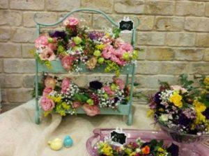 """סדנת שזירת פרחים, יס פלאנט (צילום: יח""""צ)"""