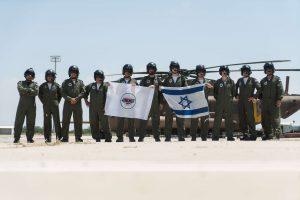 """טייסי מטס חיל האוויר החגיגי ליום העצמאות (צילום: דובר צה""""ל)"""