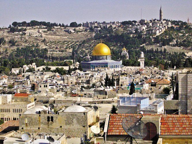 מזרח ירושלים (צילום: דוברות המשטרה)