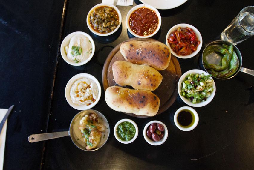 """מסעדת """"החצר"""" (צילום: אסף קרלה)"""