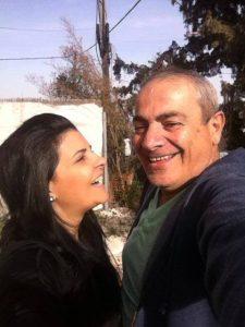 ישראל בונדק ואתי לוי (צילומים: מתוך פייסבוק)