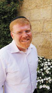 """ד""""ר דוד רוזנסון, מנכ""""ל בית אבי חי (צילום: יח""""צ)"""
