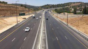 כביש 1 (צילום: חברת נתיבי ישראל)