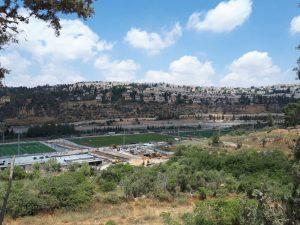 """מתחם הספורט החדש בעמק הארזים (צילום: מערכת """"כל העיר"""")"""