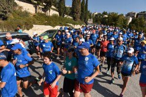 המרוץ הבינלאומי הערבי-יהודי במזרח העיר 2017 (צילום: נחשון פיליפסון)