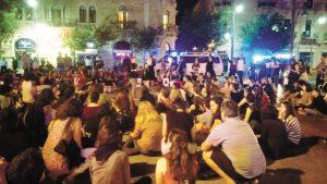 עצרת מחאה לעצירת אלימות נגד נשים בירושלים