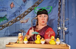 """הצגה """"פיראט באמבט"""", תיאטרון הקרון (צילום: דאפי ספונר)"""