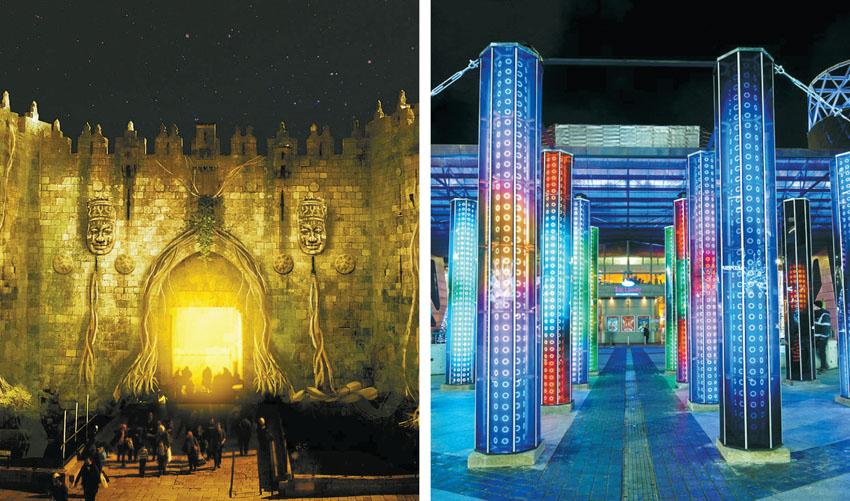 פסטיבל האור בעיר העתיקה (צילום: Mads Chrisensen, Maxin10sity)