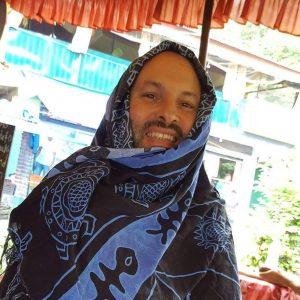 רז סקלס בהודו (צילום: פרטי)