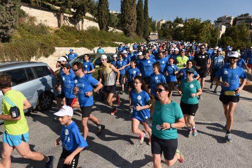 המרוץ הבינלאומי ערבי-יהודי במזרח העיר (צילום: נחשון פיליפסון)