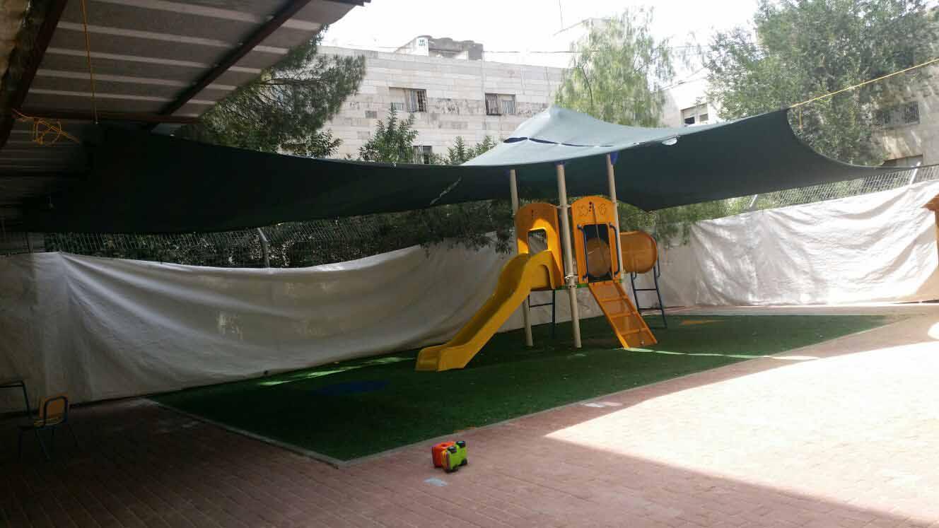 גן הילדים שממנו ברח הילד (צילום: אבי מזרחי)