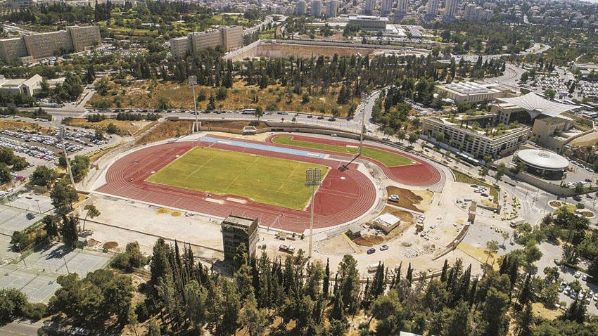 אצטדיון גבעת רם (צילום: שירן גרנות)