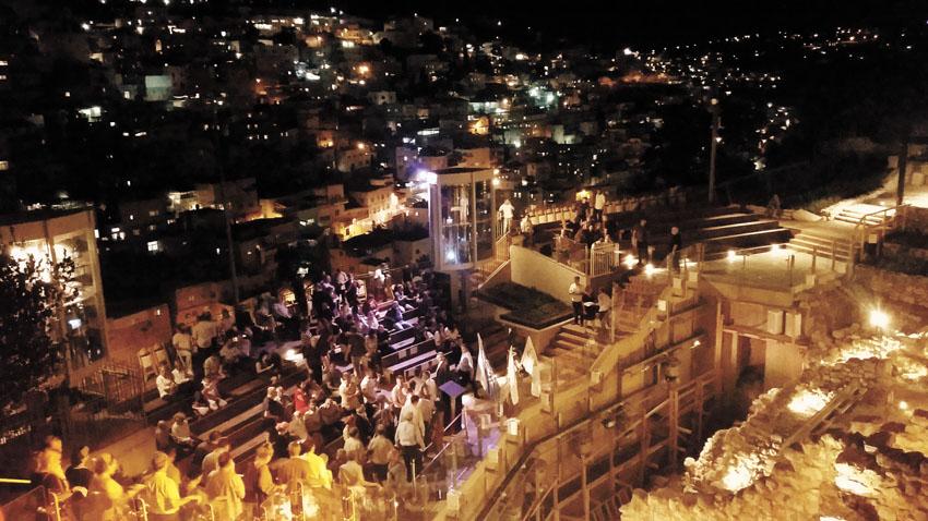 עיר דוד (צילום: סיגל קליין)