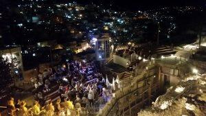 מופע אור קולי חדשני בעיר דוד (צילום סיגל קליין)
