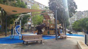 הגן ברחוב אולסוונגר (צילום: מיכל פישמן-רואה)