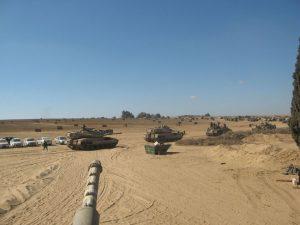 ימי הלחימה בצוק איתן (צילום: סגן תום פנחסי)
