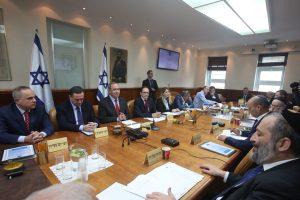ישיבת הממשלה (צילום: מרק ישראל סלם)