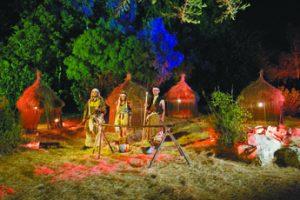 """""""לילות אפריקה"""" בגן הבוטני (צילום: עודד אנטמן)"""