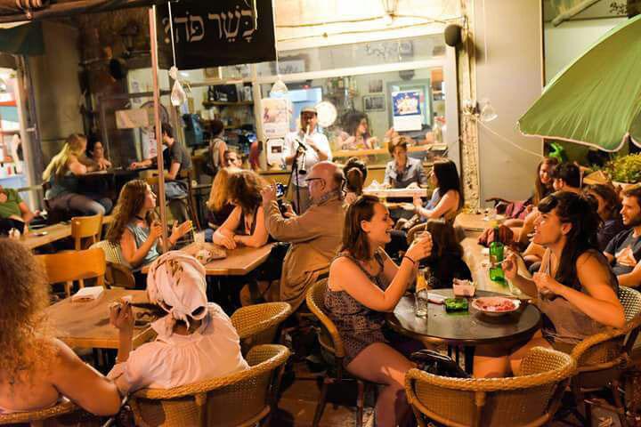 מסיבת רחוב עזה (צילום: אדם שטרנברג)