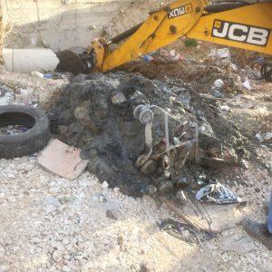מפגע ביוב במזרח העיר(צילום: שאלאה דהאני)