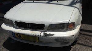 הרכב שבו נעצרו החשודים (צילום: דוברות המשטרה)