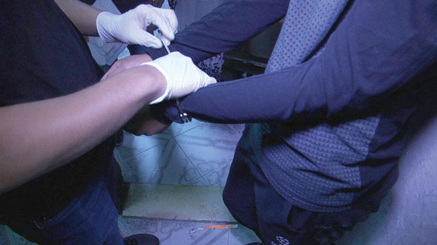 מעצרים (צילום: דוברות המשטרה)