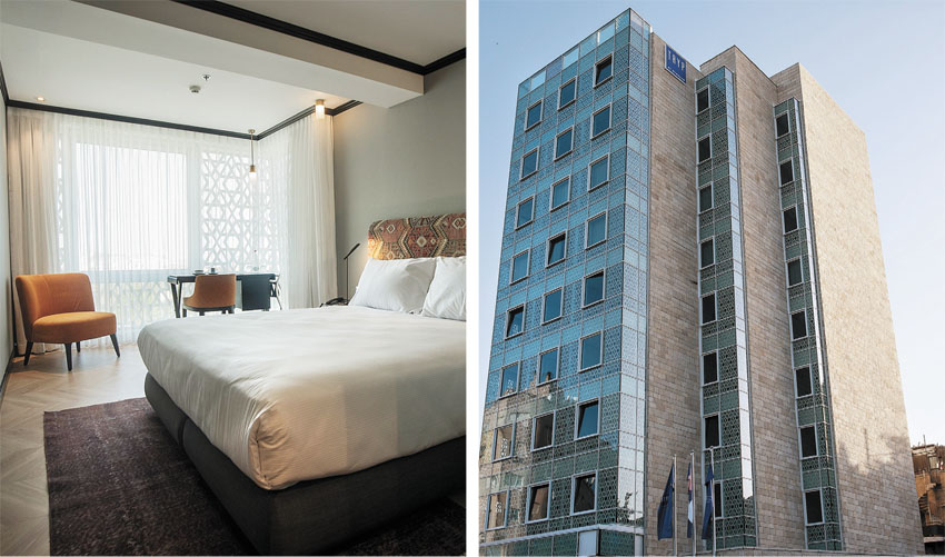 מלון טריפ ירושלים בת שבע (צילומים: אסף פינצ'וק)