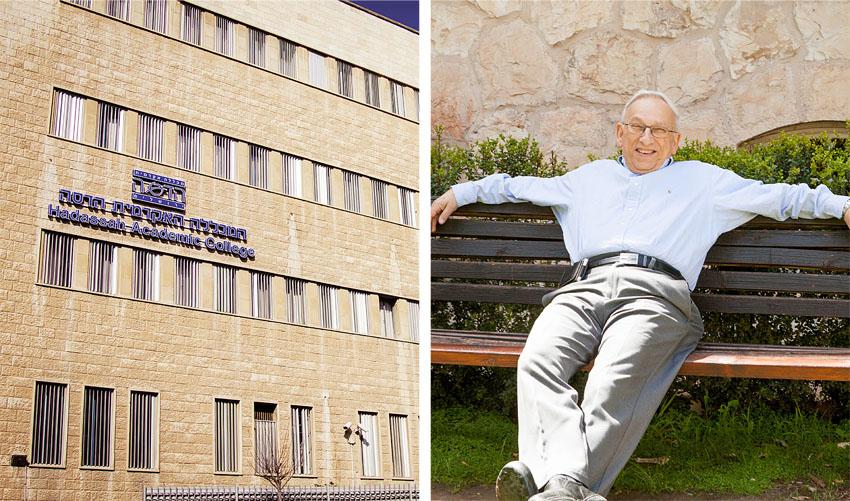 פרופ' ברטולד פרידלנדר, מכללה אקדמית הדסה (צילומים: איריס כהניאן, בנימין טוויטו)