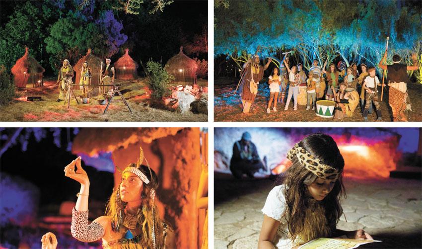 """בתמונות """"לילות אפריקה"""" בגן הבוטני (צילומים: עודד אנטמן)"""