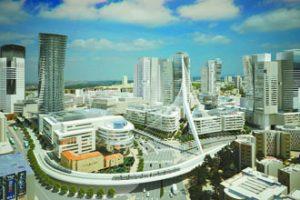 פרויקט הכניסה לעיר (הדמיה: דגן פתרונות ויזואליים מתקדמים)