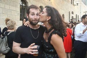 אלמה דישי והבן זוג (צילום: פול סגל)