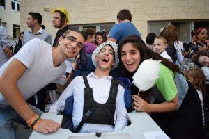 """מסיבה בסניף עלה בירושלים (צילום: יח""""צ)"""