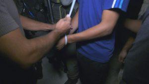 מעצרים במזרח העיר (צילום: דוברות המשטרה)