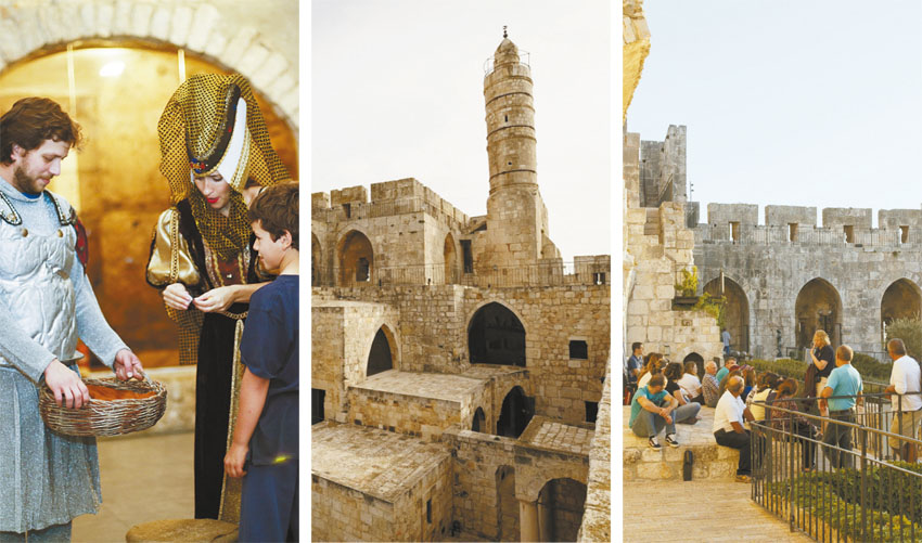 מוזיאון מגדל דוד (צילומים: עידו כהן, נפתלי הילגר, עודד אנטמן)