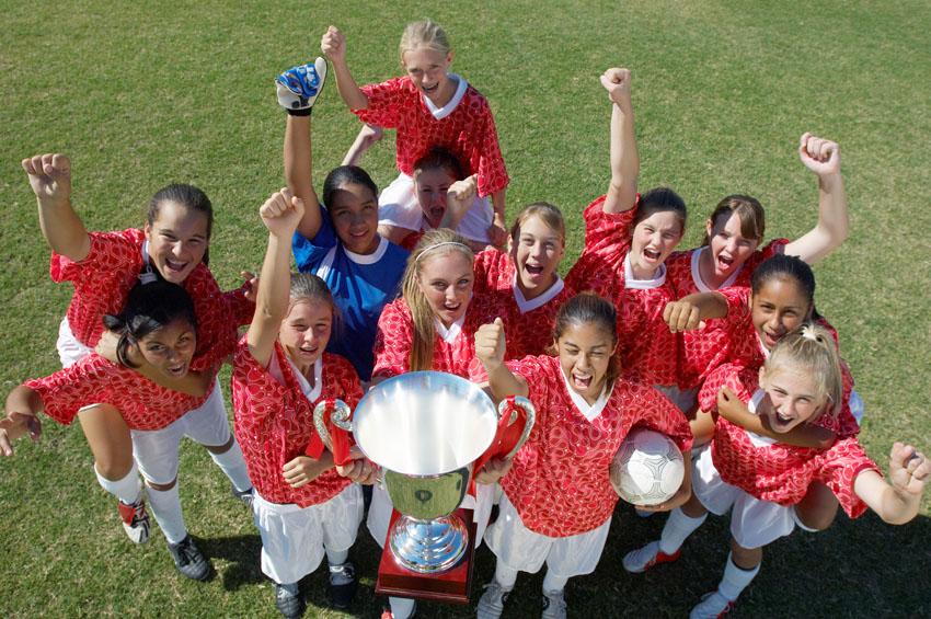 ילדות, כדורגל, ספורט (צילום אילוסטרציה: א.ס.א.פ קריאייטיב INGIMAGE)
