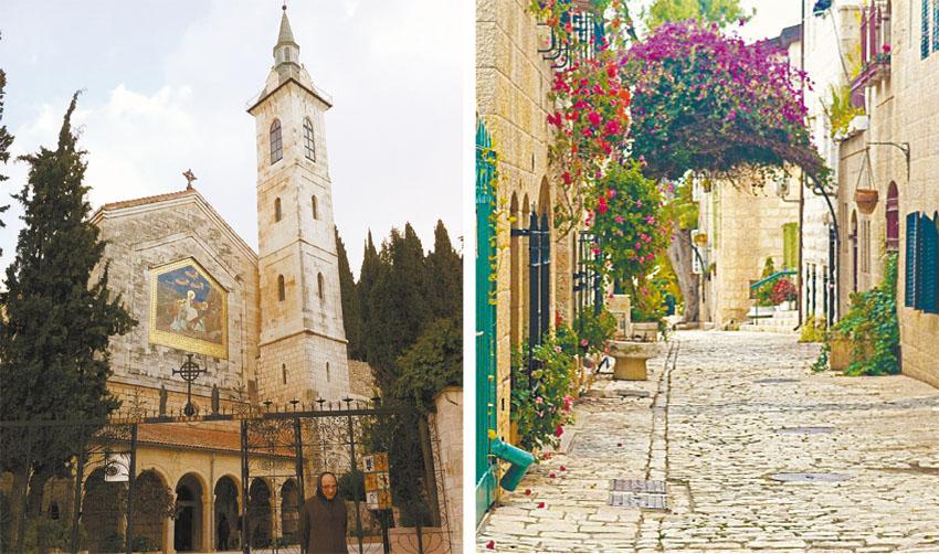 הסיורים בעין כרם ובעיר העתיקה (צילומים מיכל דוד, שלי אשכולי -באדיבות אתר טיולי)