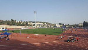 אצטדיון גבעת רם (צילום: רותי זינדל-אוכמן)