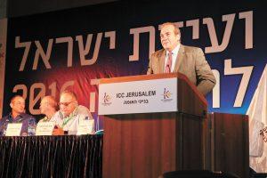 הרב יחיאל אקשטיין, ועידת ישראל לרפואה 2016 (צילום: ארנון בוסאני)