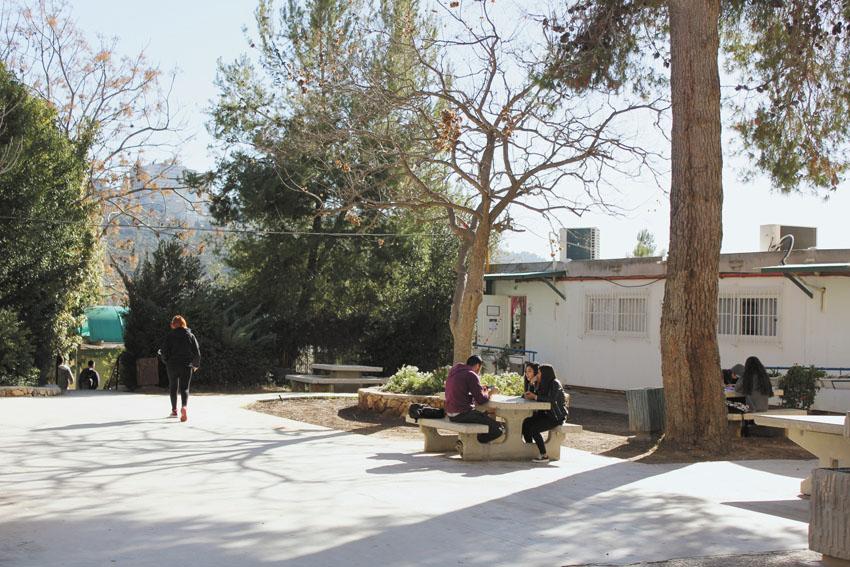 בית הספר האזורי הניסויי עין כרם (צילום: יואב סגל)