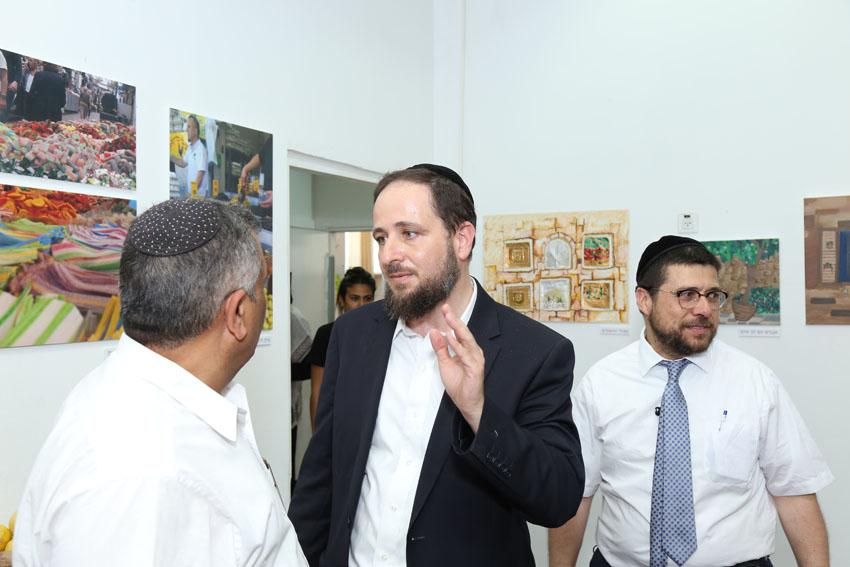 בניהו דביר, בית הספר הפעמון (צילום: דוברות עיריית ירושלים)