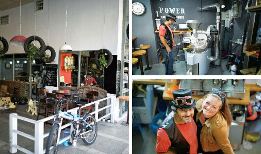 השוק: עולים חדשים מדרום אפריקה פתחו בית קפה