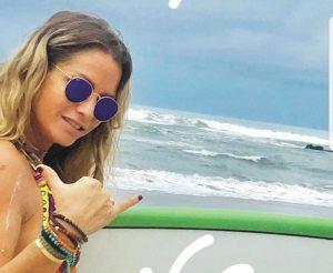 דנה אשכנזי בקוסטה ריקה (צילום: מתוך אינסטגרם)