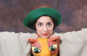 החתול במגפיים בתיאטרון הקרון (צילום: איילת זילברמן)