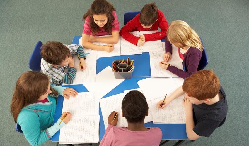כיתה, תלמידים (צילום: א.ס.א.פ קריאייטיב INGIMAGE)